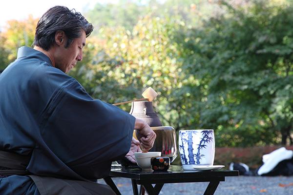 松山閣松山茶前式
